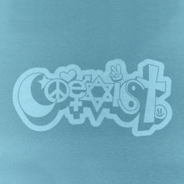 T-shirt Design – Coexist