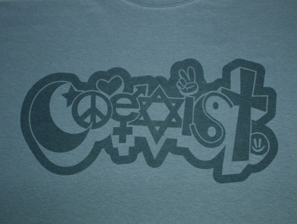 Coexist T-shirt Design