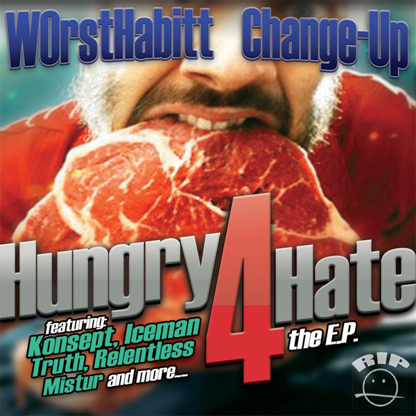 Hungry4Hate Album Cover Design