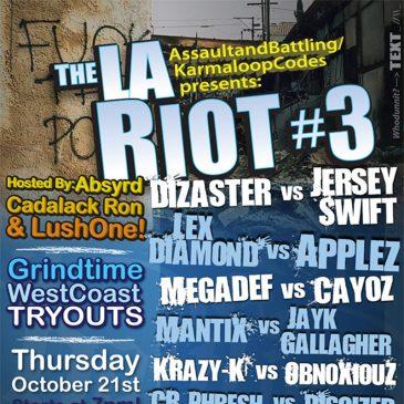 Print Design – The L.A. Riot #3