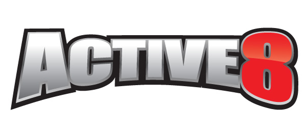 Active8 Logo Design