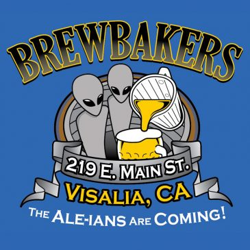 T-shirt Design – Brewbakers' Ale-ians!