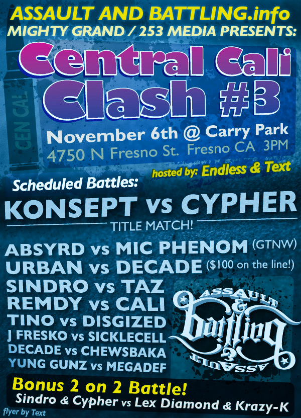 Central Cali Clash #3