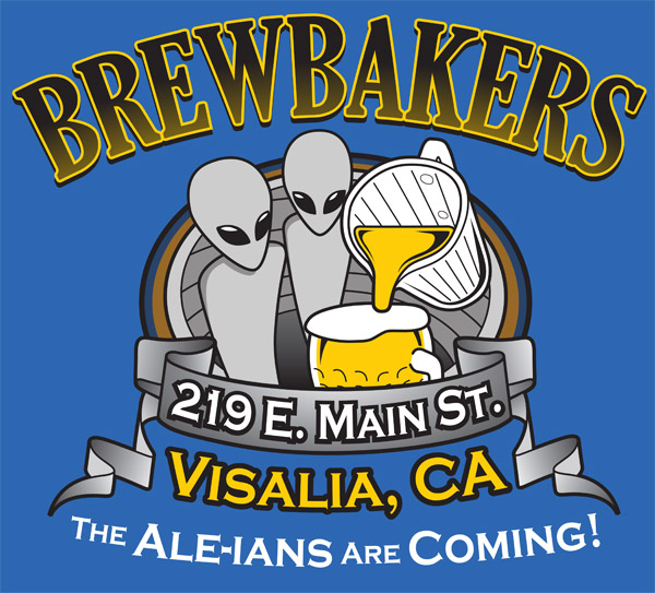 Brewbakers T-shirt Design
