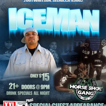 Print Design – Iceman with Horseshoe Gang
