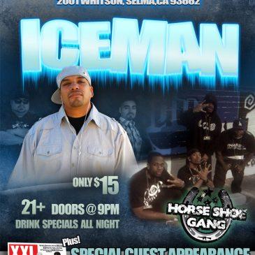 Print Design – Iceman with Horseshoe Gang