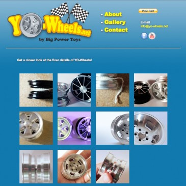 Website Design – Yo-Wheels.net