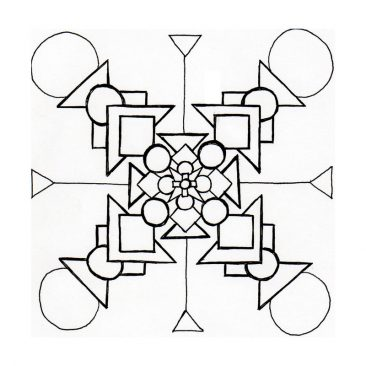 Illustration – Primitive Mandala