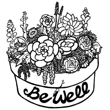 Illustration – Be Well